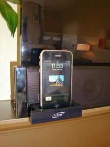 Listen to you own music with our Iphone sound bar