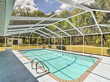 'Pointe of View' Dunnellon House w/ Private Pool!