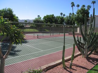 Palm Springs condo photo - Access to 8 tennis courts