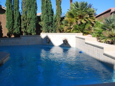 Pool & Patio, w/Chaise Lounges, Seating set and new Stainless Grill.