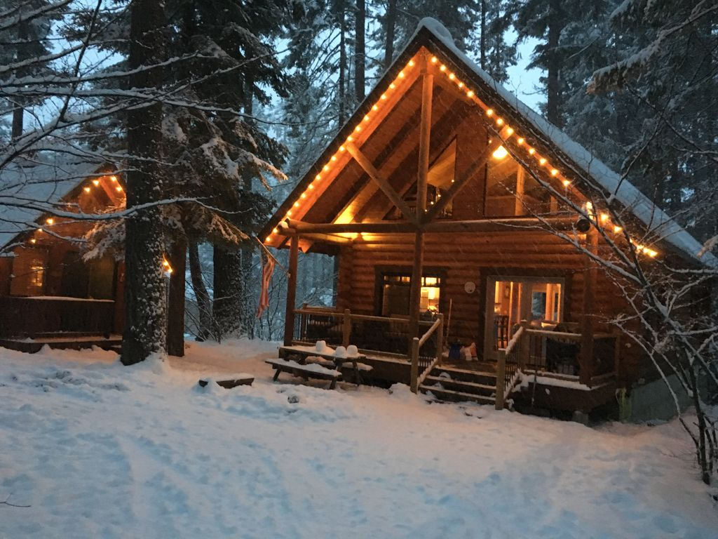 Custom log cabin near suncadia roslyn vrbo