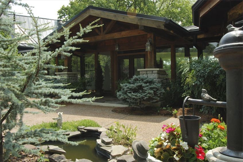 Luxurious post and beam ranch hideaway on vrbo for Post and beam ranch homes