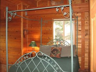 Homewood cabin photo - Third Bedroom with Queen Bed