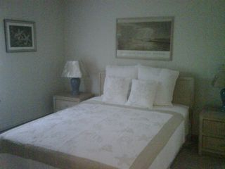 Mashpee house photo - Master bedroom with Queen bed, double walk-in closets and skylight.