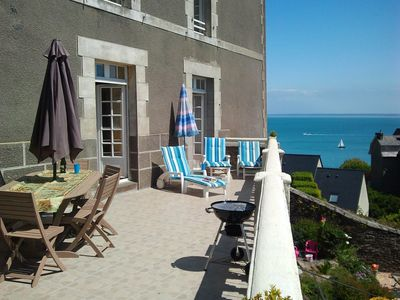 Detached house with sea view Cancale 10km St Malo