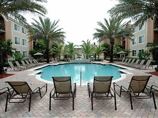 South Miami condo photo - Large, tropical pool area
