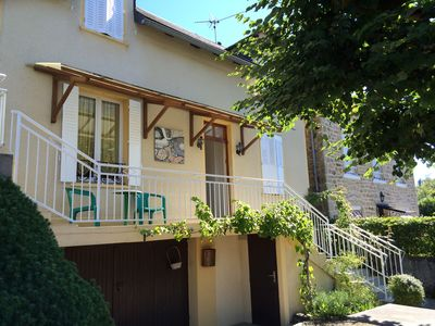 comfortable villa with sun terrace and 15 min walk to the lake