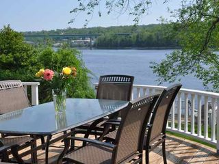 Spectacular Waterfront Home On The Maine Co Vrbo