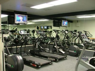 Workout Center for those rainy days.