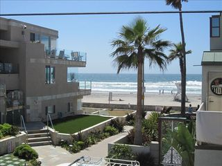 Mission Beach house photo - View From Deck