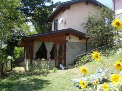 Nice little holiday home , 4 persons, with enchanting view over mountains  of Tucany-Emilia Appennines