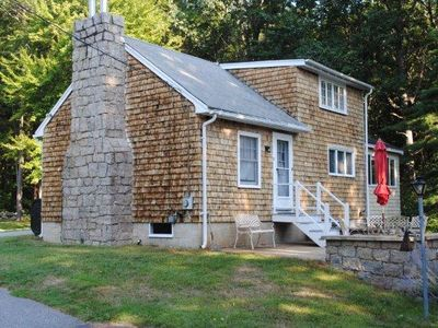Rye cottage rental - This is the last house on the street and is very private.