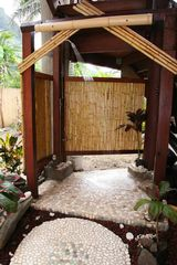 Haena house photo - Outdoor shower to enjoy after a nice day at the beach!