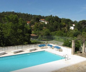 Cottage with Swimming Pool,  Tennis Court in Beautiful Garden & Nature