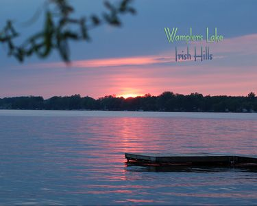 Brooklyn cottage rental - Welcome to Wamplers Lake in the Irish Hills!