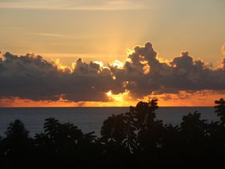 Humacao studio photo - View sunrise from balcony