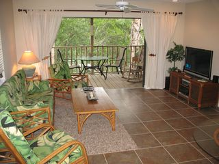 Don Pedro Island condo photo - Open and Airy living toom to enjoy your 42' Plasma with HD TV & WIFi Acces