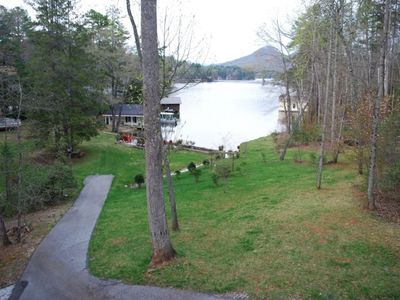 VIEW OF LAKE FROM MAIN LEVEL