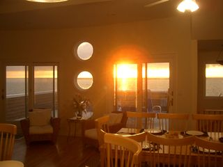Sunset Dinnertime - Holgate house vacation rental photo
