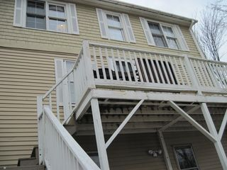 Old Orchard Beach cottage photo - Exterior Entrance to Deck