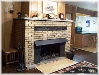 Gladwin house photo - Fireplace