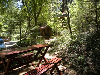 Sedona cabin photo - Picnic area