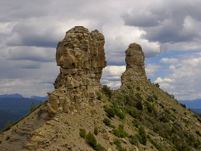 Chimney Rock National Monument - Just a short drive from Pagosa Mountain Retreat