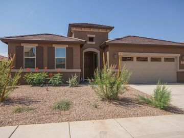 Oro Valley house rental - Front of the house with desert landscaping