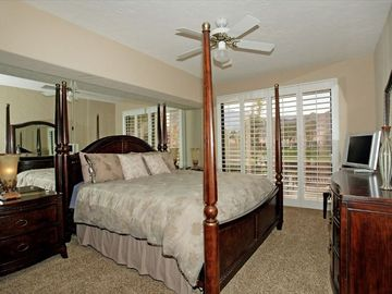 Very Large Master Bedroom - Has New Flat Screen TV & Private Bathroom As Well !