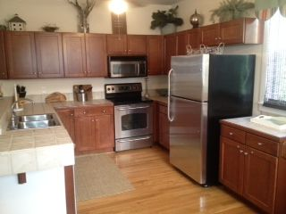 Kitchen - all stainless appliances