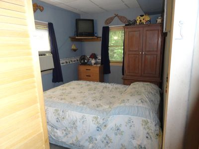 Caroga Lake cottage rental - Queen Bed