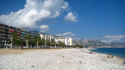 Altea beachwalk