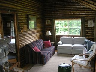Pemaquid Point cottage photo - Living Area