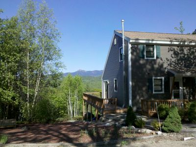 Madison house rental - Private lot with spectacular scenery year round.