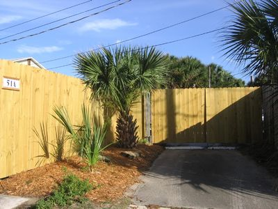 St. Augustine cottage rental - Entrance