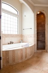 Lago Vista house photo - Luxurious master bathroom spa!
