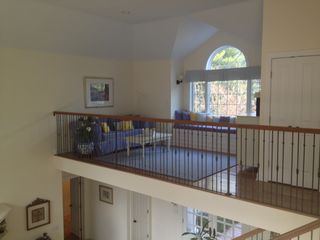 East Hampton house photo - View of loft from upstairs.