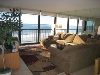 Pacific Beach condo photo - Living Room with White Water Ocean Views