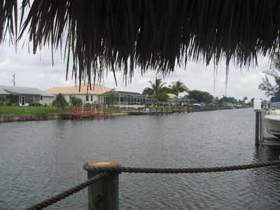 View of Gulf access canal