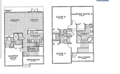 Great Floor Plan! Gated resort. Spa, 9 pools, trails & 5 resturants!