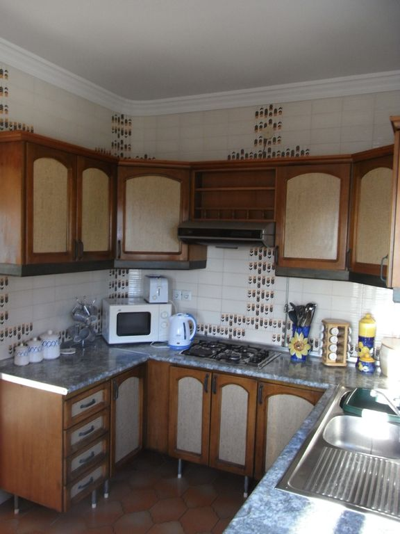part of well equipped kitchen
