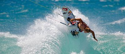 Host to the international windsurfing and kitesurfing World Cup