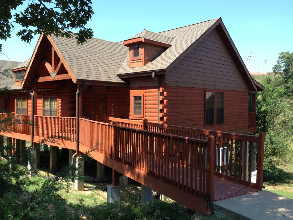 Branson Vacation Rental Vrbo 493141 2 Br Mo Cabin Family Friendly Condo Conveniently