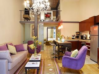 Recoleta apartment photo - Loft (1B) living area (2).