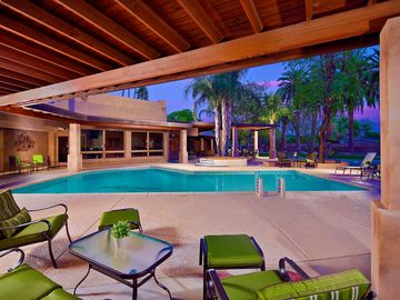 Other Scottsdale Properties estate rental - Large covered patio, tons of beautiful palm trees, and more!