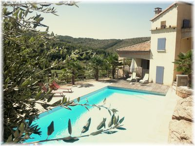 Gite with heated swimming pool near MILLAU SUD AVEYRON ST ROME DE TARN Viaduct