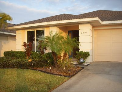 Sunset Lakes villa rental - Front
