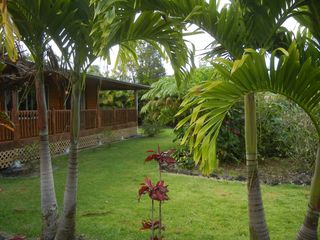 Pahoa house photo - A glimpse of the house.