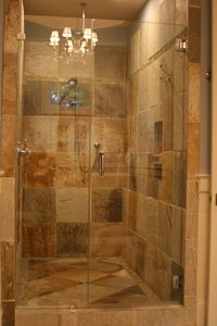 Large Shower in Master Suite