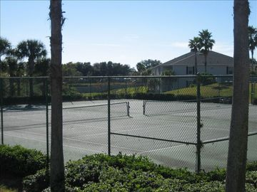 Tennis Courts overlooking the lake